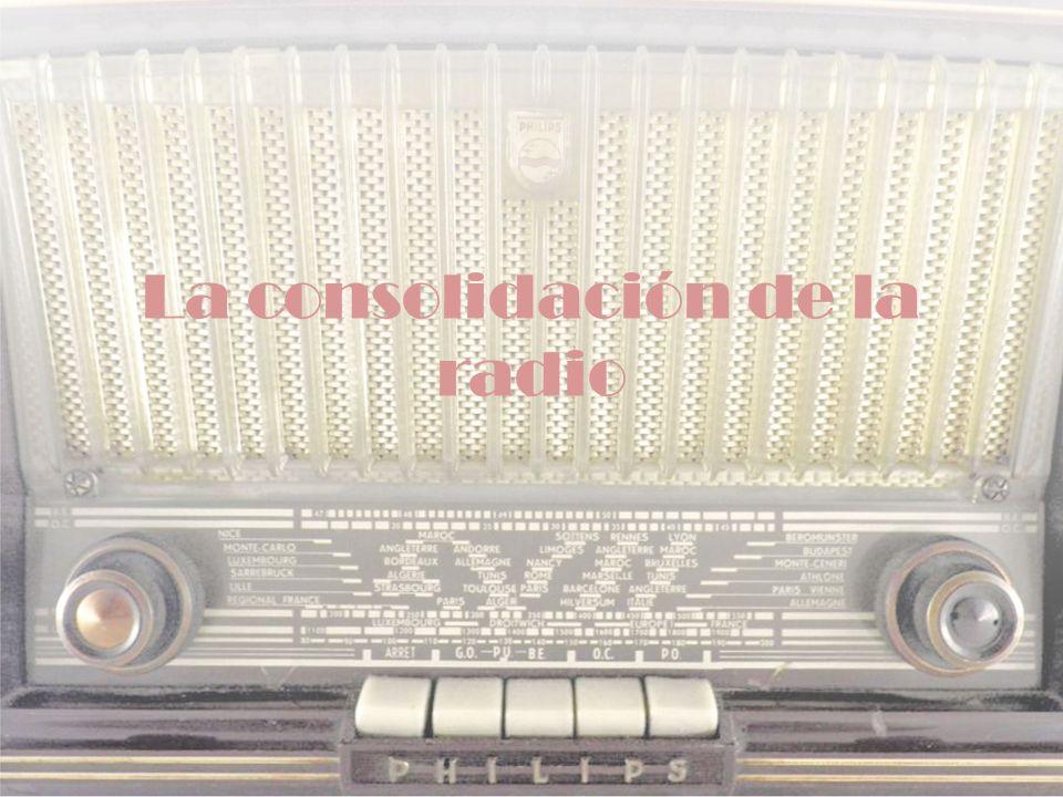ESTRUCTURA Y DESARROLLO II.TEMA 3 1930 Las emisoras se instalaban con fines de experimentación.