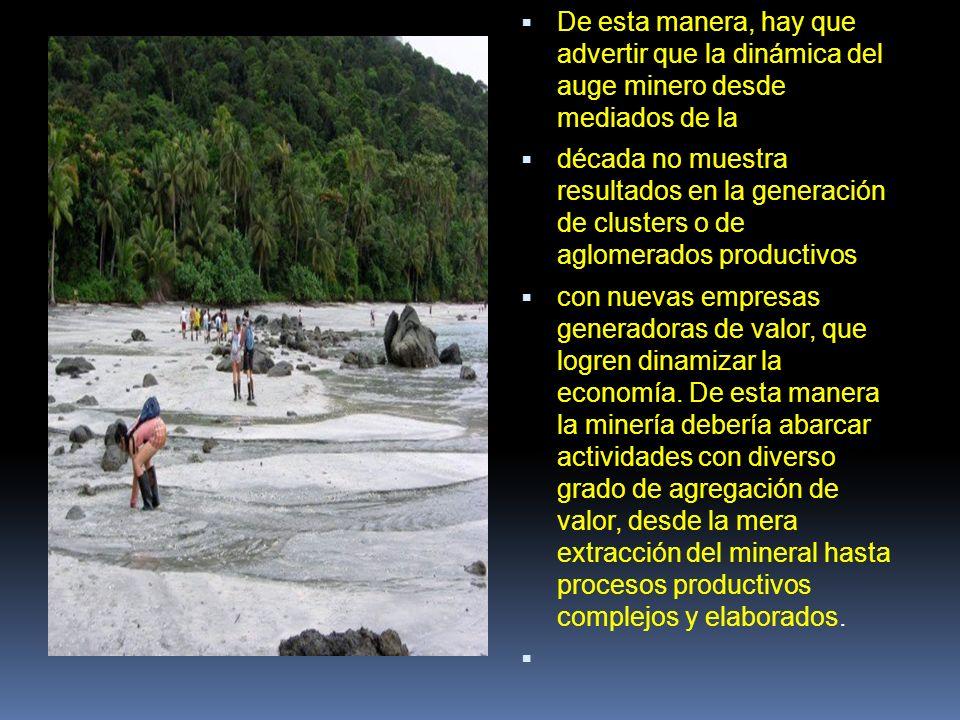 Existe una relación muy marcada entre el desarrollo de sectores basados en recursos naturales con la expansión de grupos al margen de la ley.