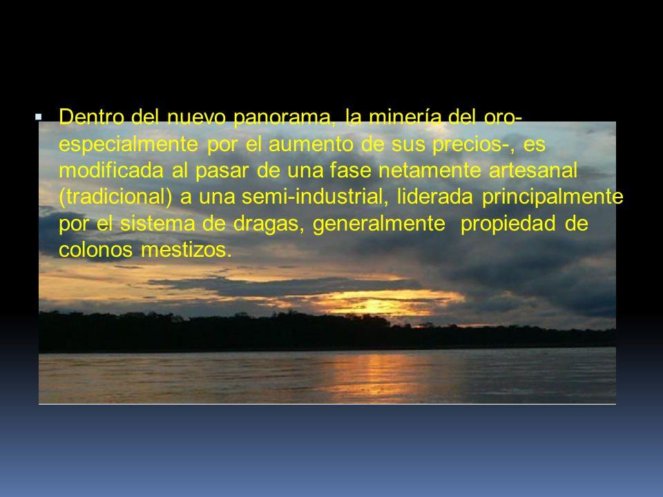 Existe una relación entre los efectos que puede tener en concreto la actividad minera sobre el deterioro del medio ambiente.