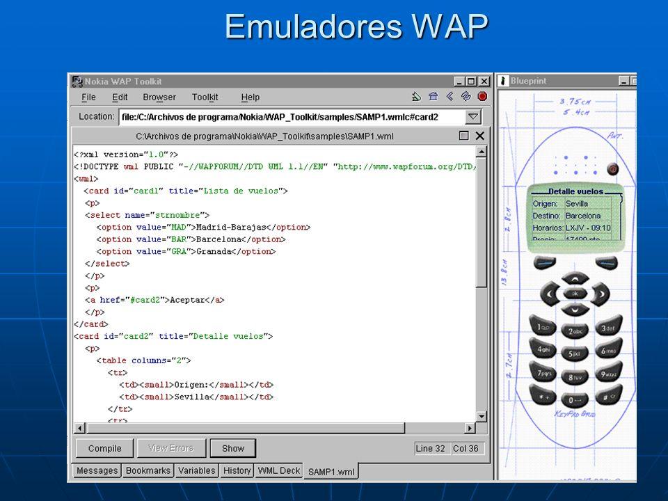 Emuladores WAP