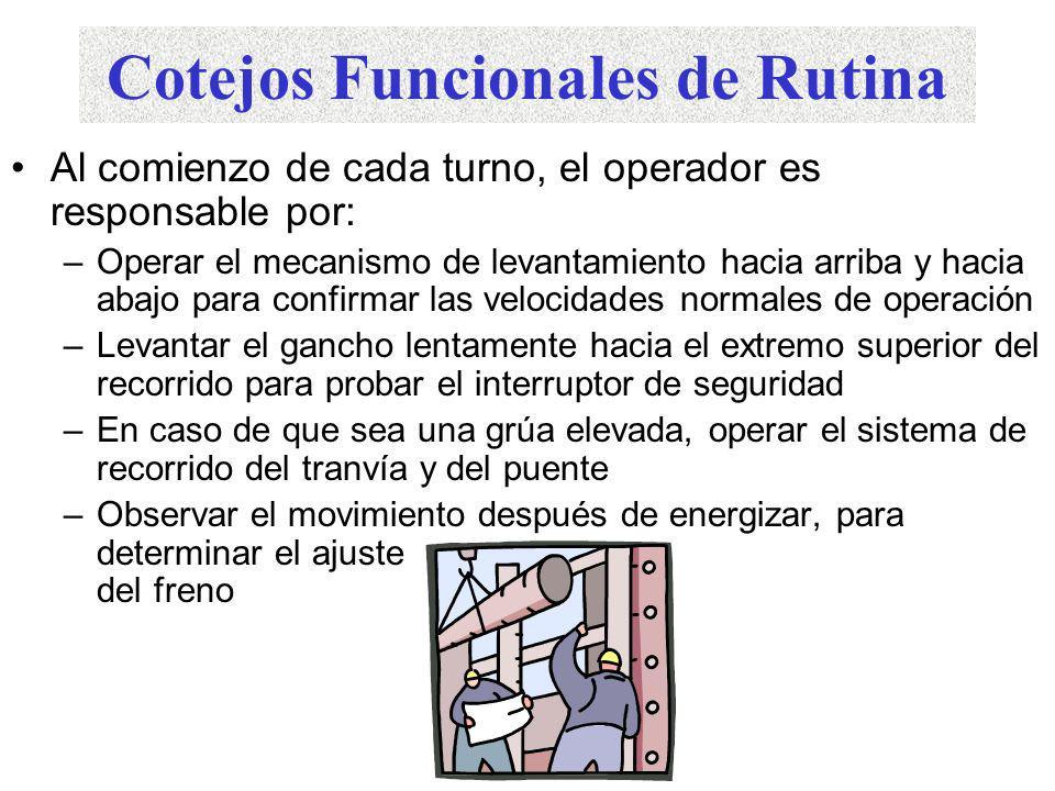 1926.550 – Grúas y Torres. Se debe cumplir con las especificaciones del manufacturero
