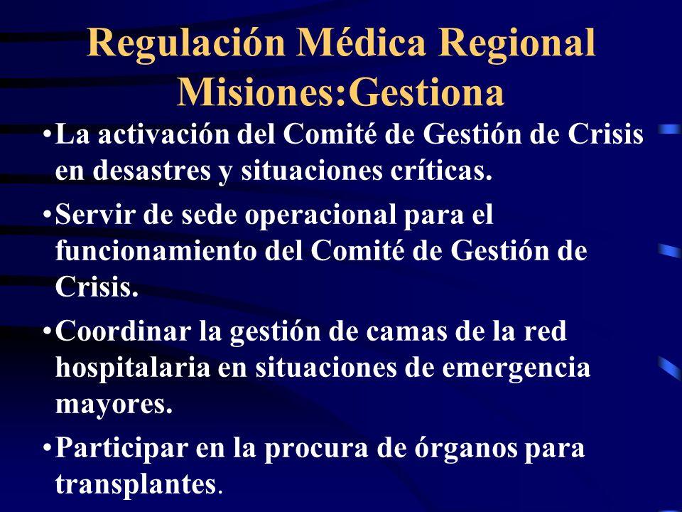La activación del Comité de Gestión de Crisis en desastres y situaciones críticas.