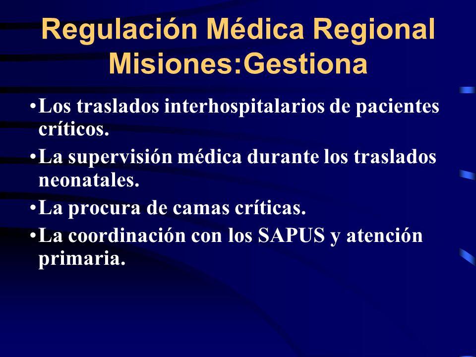 Los traslados interhospitalarios de pacientes críticos.