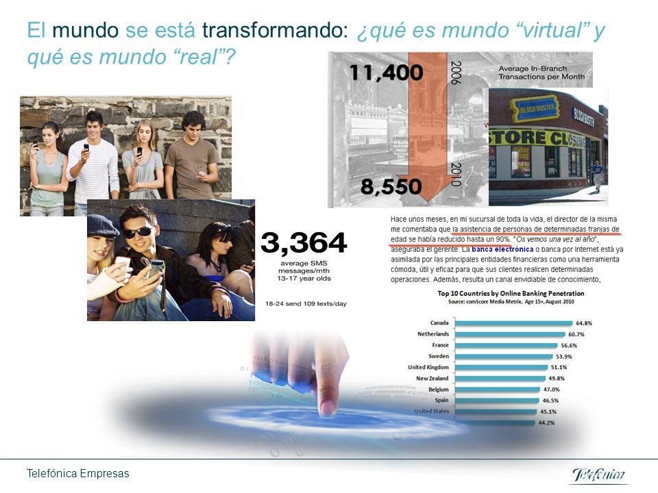 Telefónica Empresas El mundo se está transformando: ¿qué es mundo virtual y qué es mundo real?