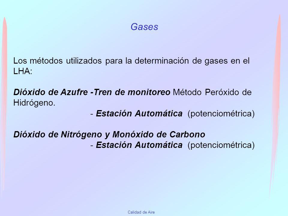 Calidad de Aire Humo Negro 2005 Estación 1 Ciudad Vieja Estación 7 Portones de Carrasco Promedio Anual ug/m31718 Máxima concentración promedio en 24 h