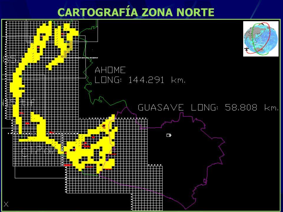 CARTOGRAFÍA ZONA NORTE