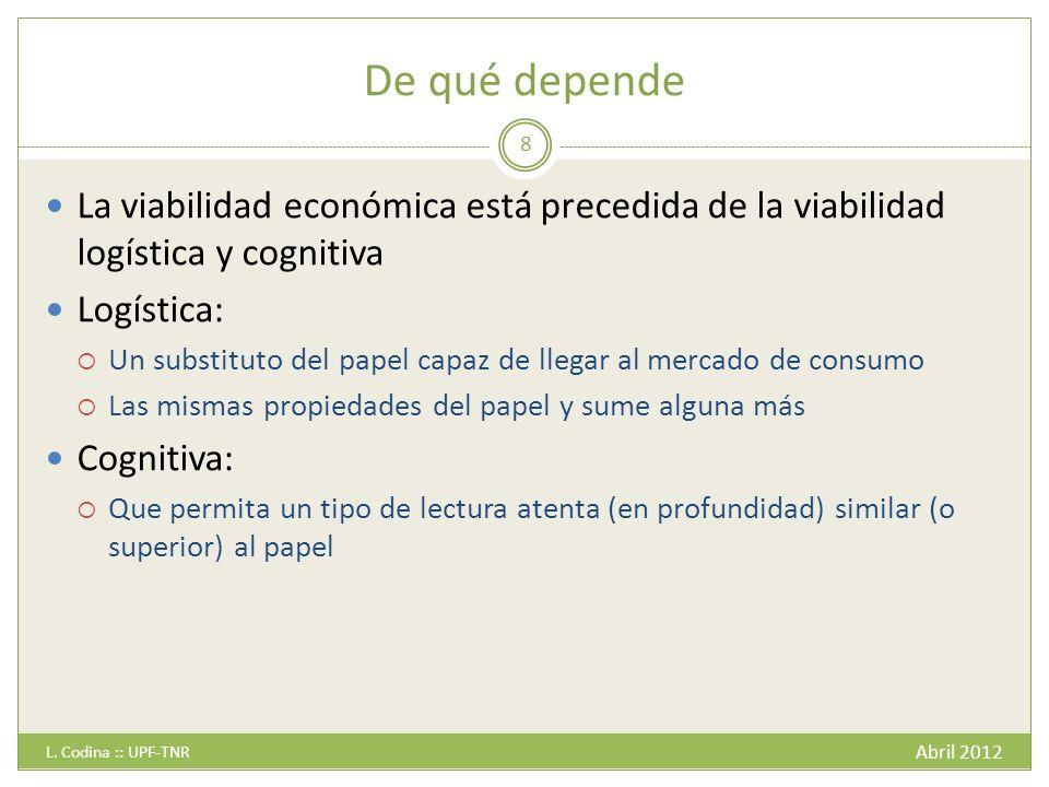 ¿Fuente de ingresos.Abril 2012 L.