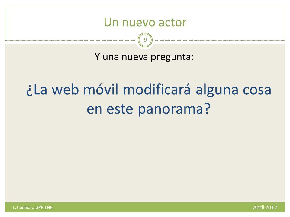 Ejemplos Smartphones – El País Abril 2012 L. Codina :: UPF-TNR 30