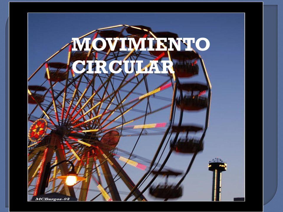 El Movimiento Circular Uniforme es aquel en el que el móvil se desplaza en una trayectoria circular (una circunferencia o un arco de la misma) a una velocidad constante.