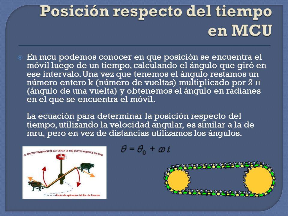 En MCU, la velocidad tangencial es constante en módulo durante todo el movimiento.