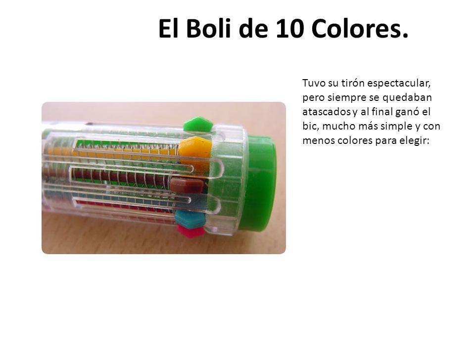 El Boli de 10 Colores.