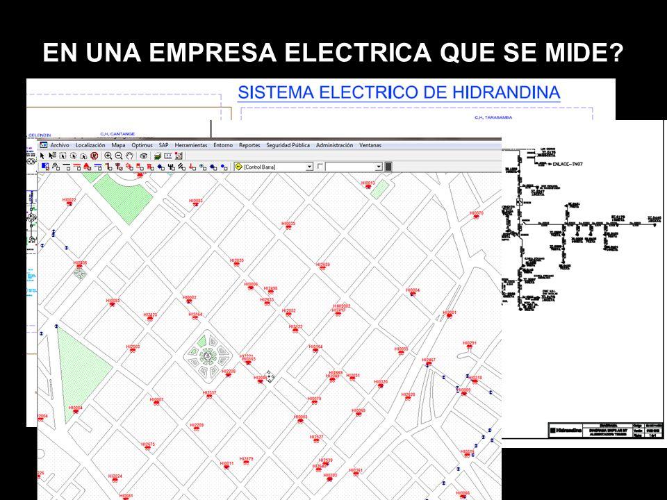 EN UNA EMPRESA ELECTRICA QUE SE MIDE?