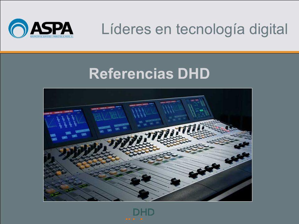Título Uno Título Dos Líderes en tecnología digital Referencias DHD