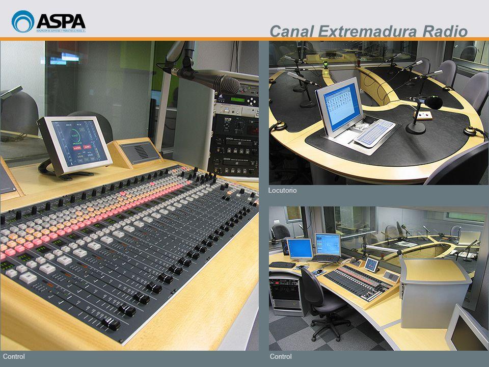 Control Locutorio Control Canal Extremadura Radio
