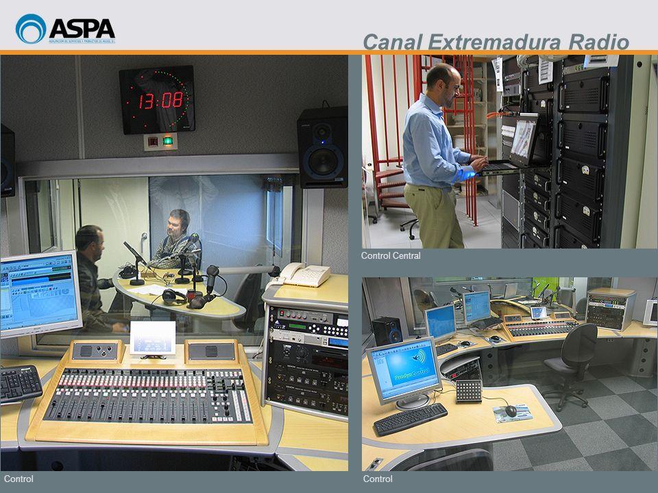 Control Control Central Control Canal Extremadura Radio