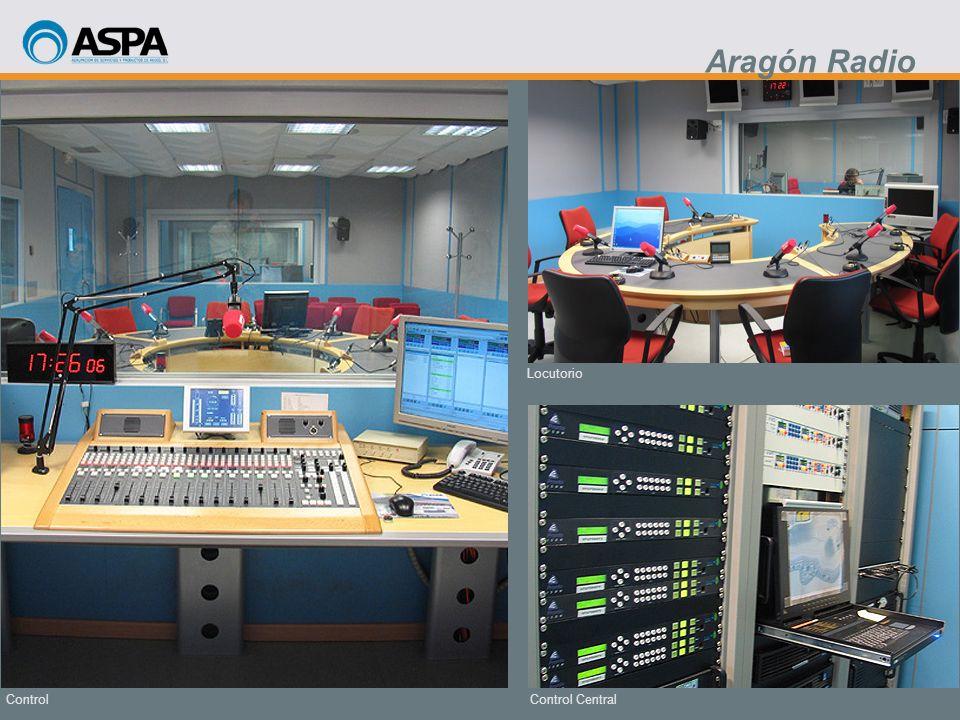 Control Central Locutorio Control Aragón Radio