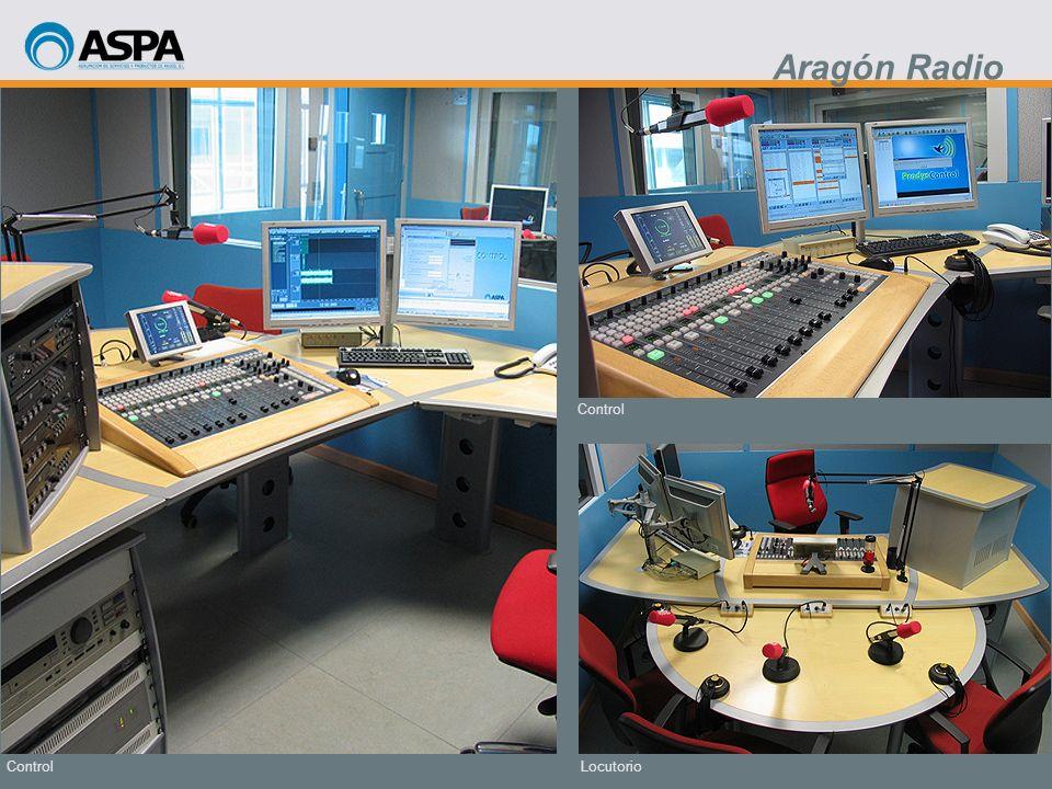 Locutorio Control Aragón Radio
