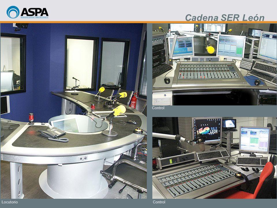 Control Locutorio Cadena SER León