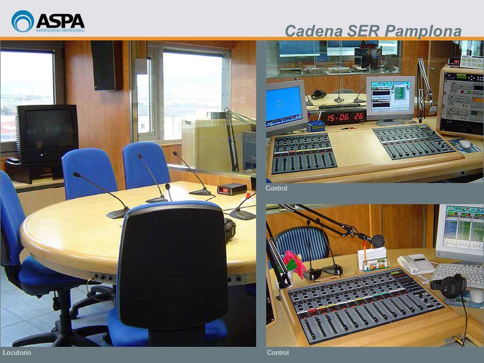 Control Locutorio Cadena SER Pamplona