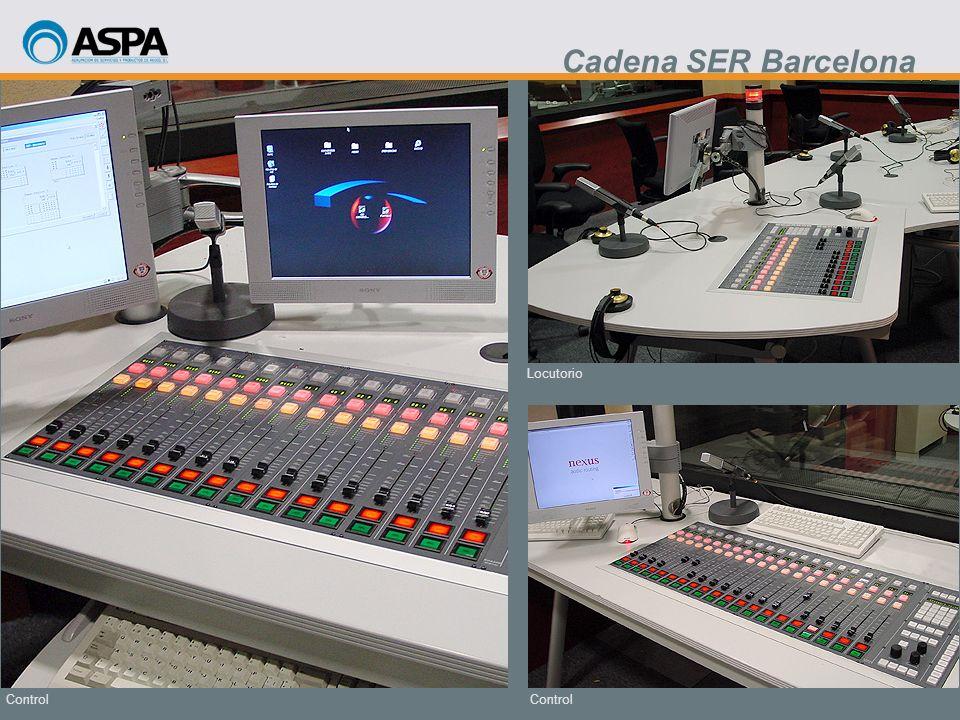 Control Locutorio Control Cadena SER Barcelona