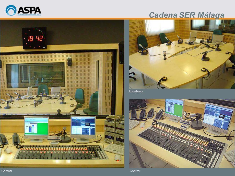 Control Locutorio Control Cadena SER Málaga
