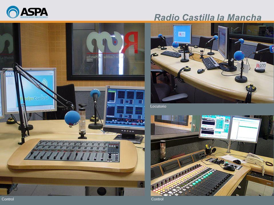 Control Locutorio Control Radio Castilla la Mancha