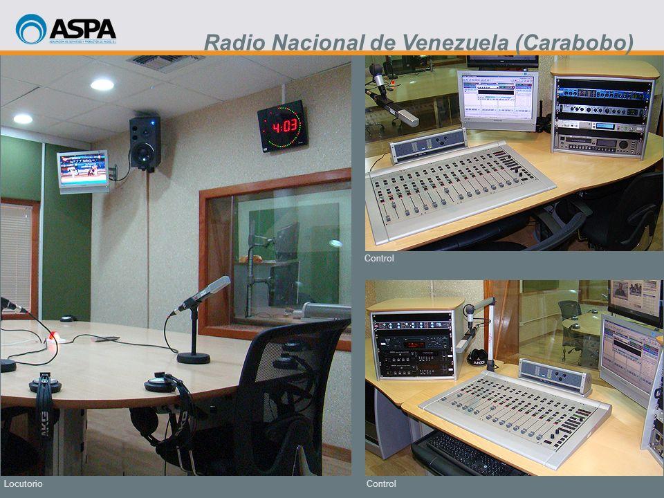 Control Locutorio Radio Nacional de Venezuela (Carabobo)