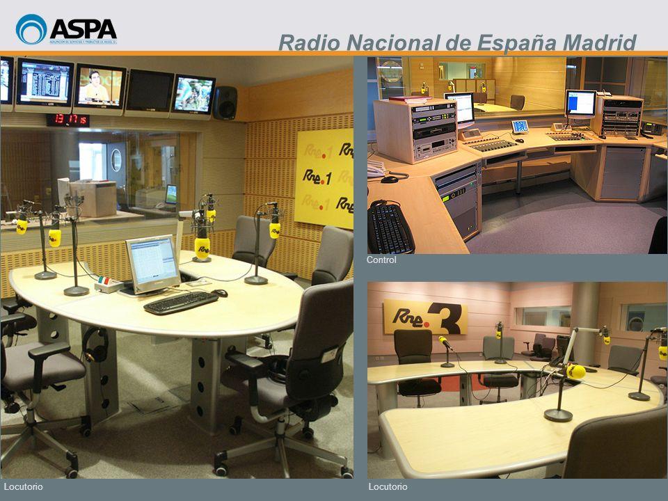 Locutorio Control Locutorio Radio Nacional de España Madrid