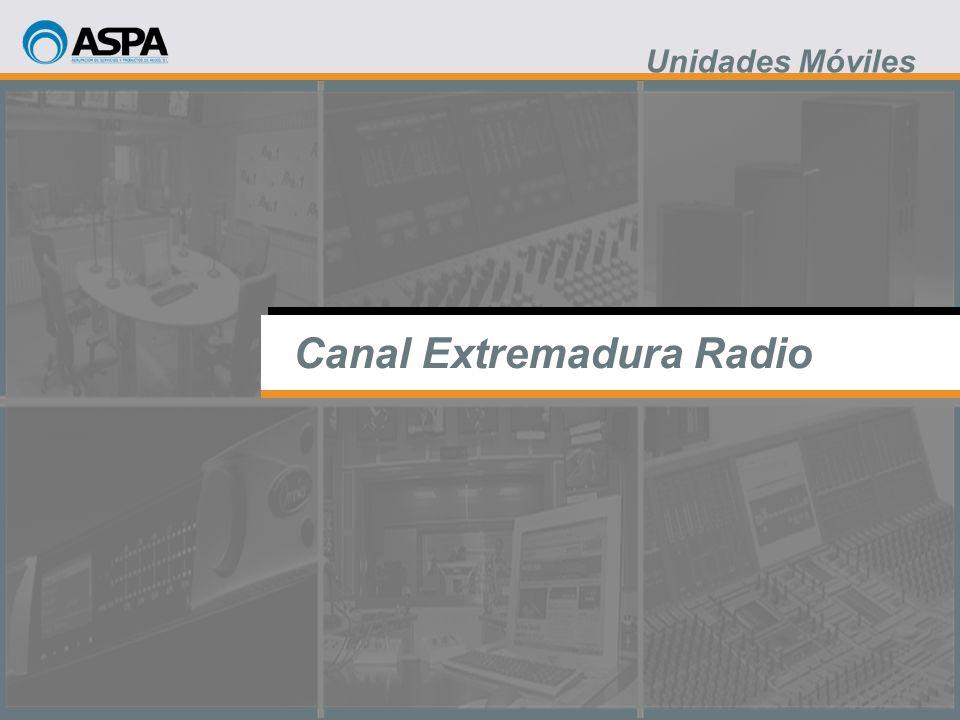 Canal Extremadura Radio Unidades Móviles