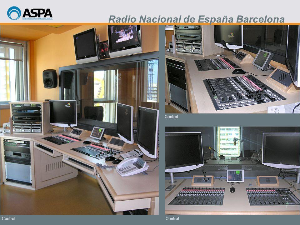 Control Radio Nacional de España Barcelona