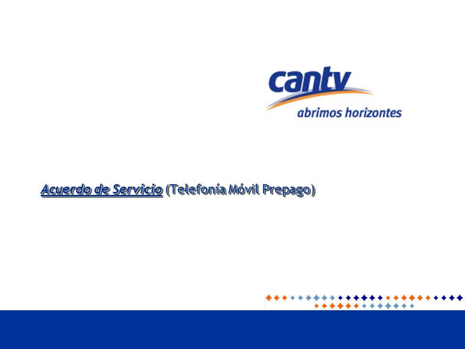 Acuerdo de Servicio (Telefonía Móvil Prepago)
