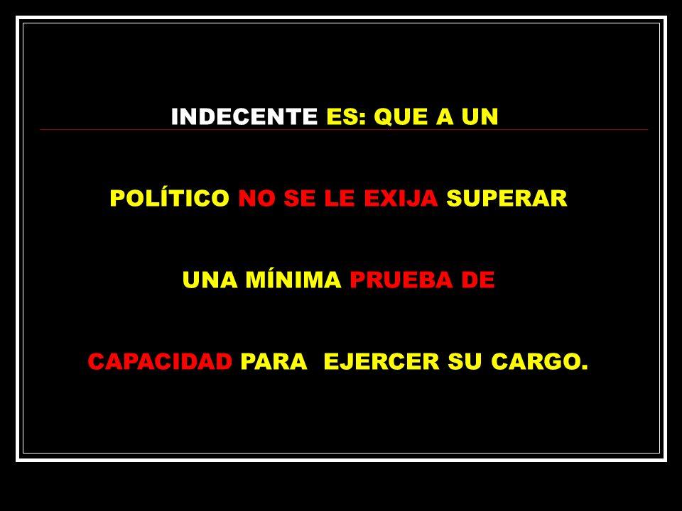 INDECENTE, ES EL DINERO DESTINADO A SOSTENER A LOS PARTIDOS, APROBADOS POR LOS MISMOS POLÍTICOS QUE VIVEN DE ELLOS.