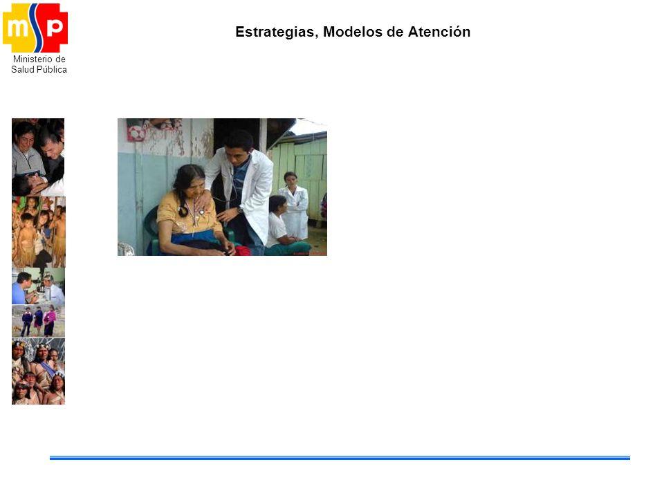 Ministerio de Salud Pública Estrategias, Modelos de Atención