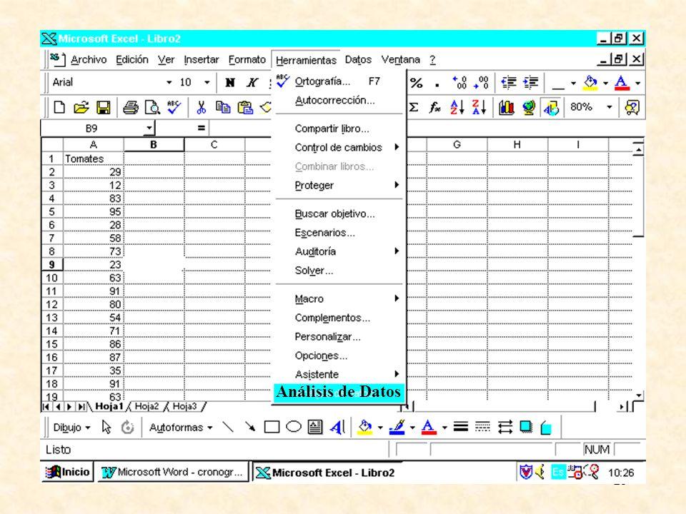 25 Análisis de Datos