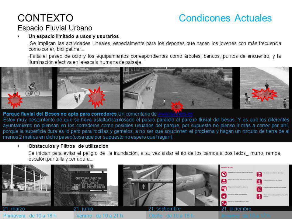 Parque fluvial del Besos no apto para corredores,Un comentario de www.runners.eswww.runners.es Estoy muy descontento de que se haya asfaltado/enlosado