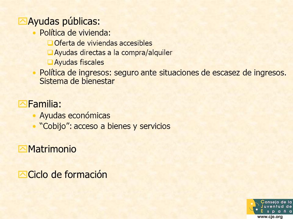 Régimen de tenencia de las viviendas en España Fuente: elaboración propia a partir de los Censos de Población y Vivienda