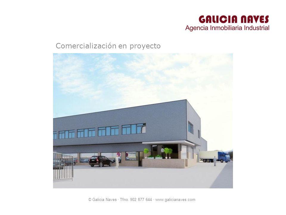 Comercialización en proyecto