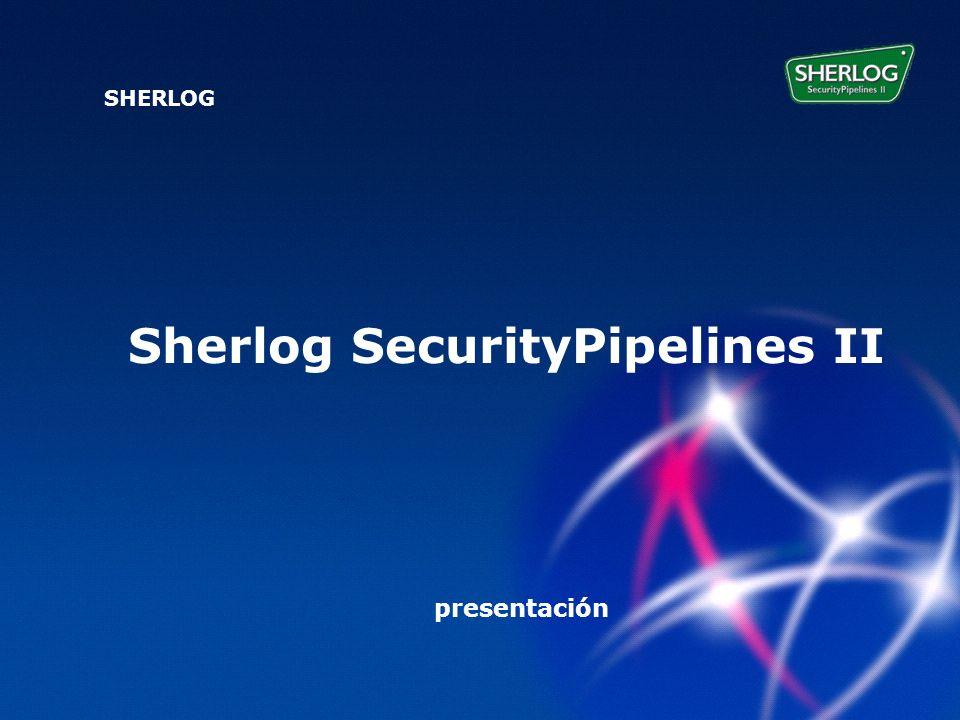SHERLOG prezentace Sherlog SecurityPipelines II SHERLOG presentación