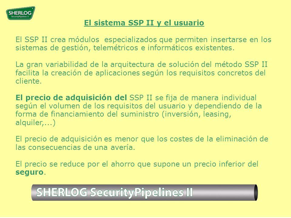 El sistema SSP II y el usuario El SSP II crea módulos especializados que permiten insertarse en los sistemas de gestión, telemétricos e informáticos existentes.