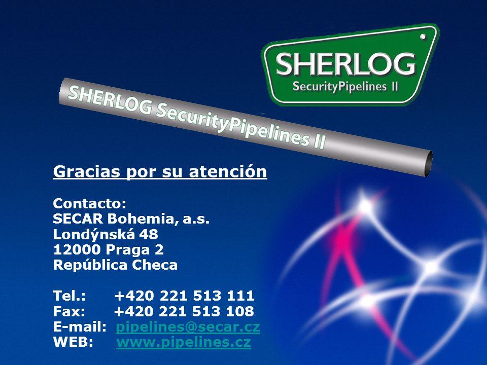 Gracias por su atención Contacto: SECAR Bohemia, a.s.