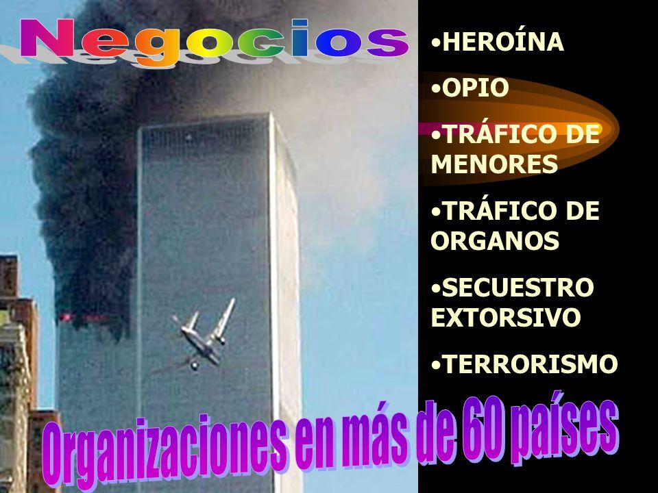 Empresas off shore Empresa de demolición Empresas de comercio internacional Fondos fiduciarios Bancos Líneas Aéreas