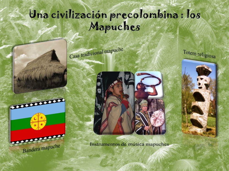 Una civilización precolombina : los Mapuches