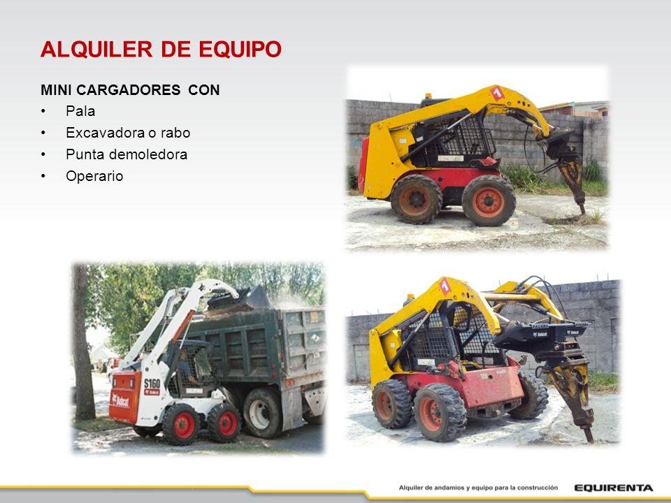 ALQUILER DE EQUIPO PLANTAS ELÉCTRICAS 5 KW 8 KW 9 KW 38 KW 45 KW PUNTALES 2X van de 2 a 3.4 mts 3X van de 2.30 a 4.10 mts +3X van de 2.30 a 4 mts 4X van de 2.80 a 5 mts