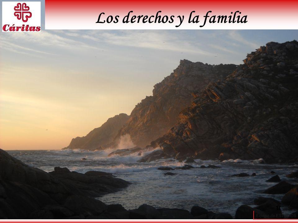 Equipo de ESTUDIOS 17 Los derechos y la familia