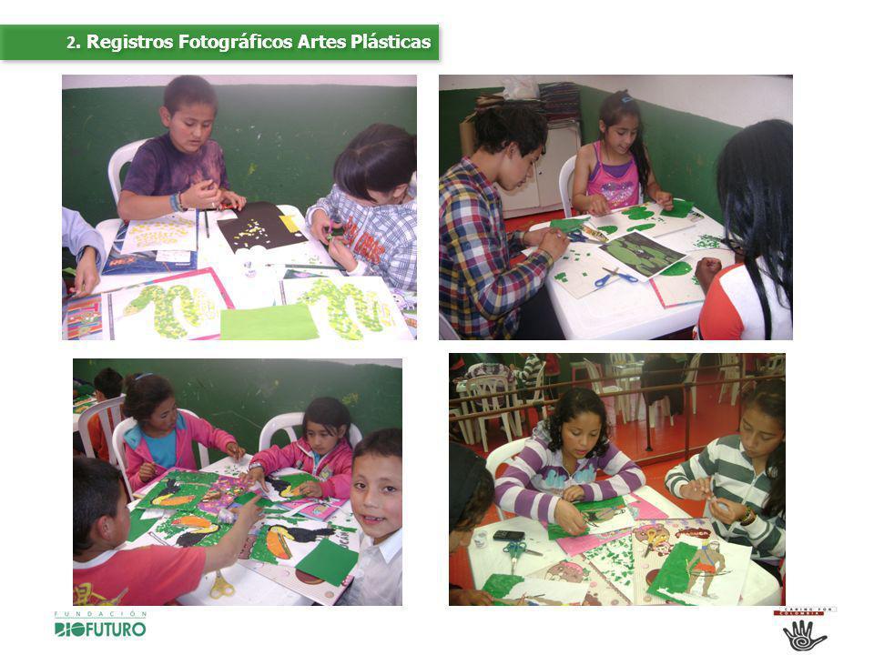 2. Registros Fotográficos Artes Plásticas
