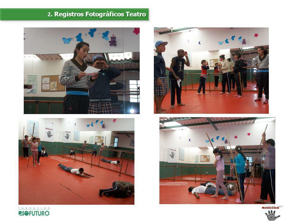 2. Registros Fotográficos Teatro