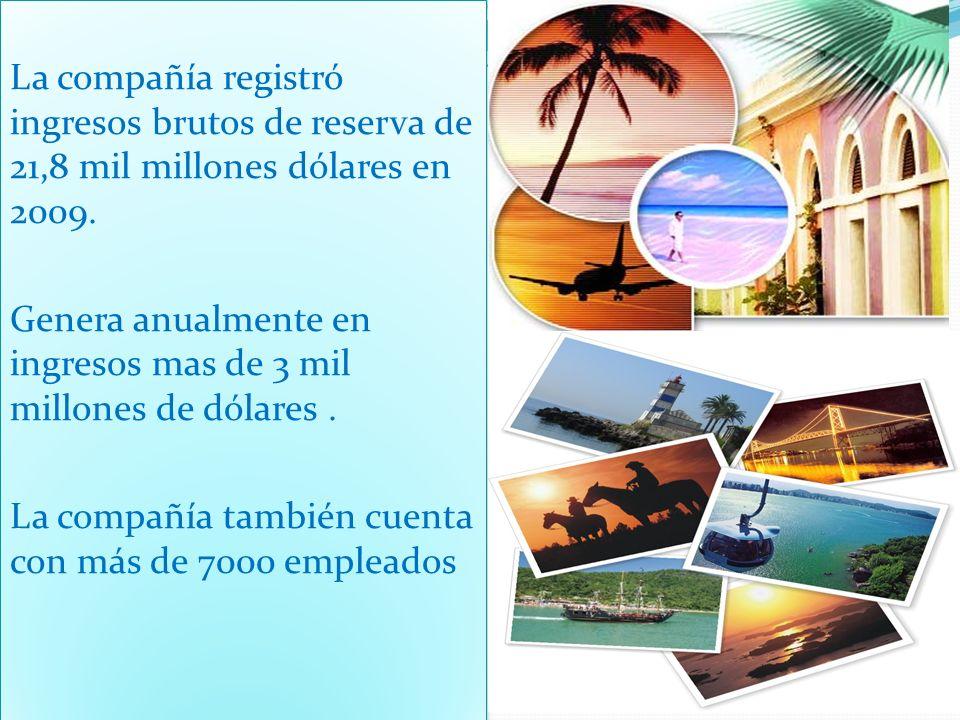 Es la compañía de viajes líder con sitios en idiomas locales y tiene presencia en 29 Países.