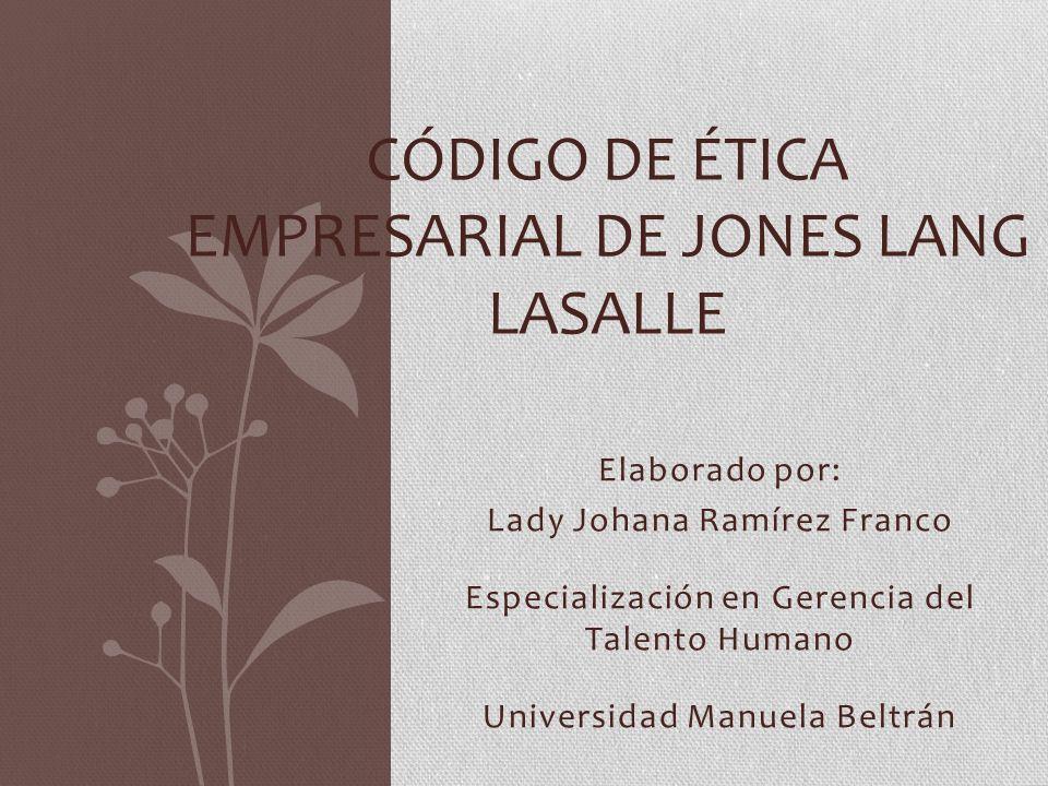 Qué es Jones Lang LaSalle.