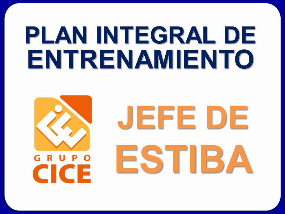 PLAN INTEGRAL DE ENTRENAMIENTO JEFE DE ESTIBA