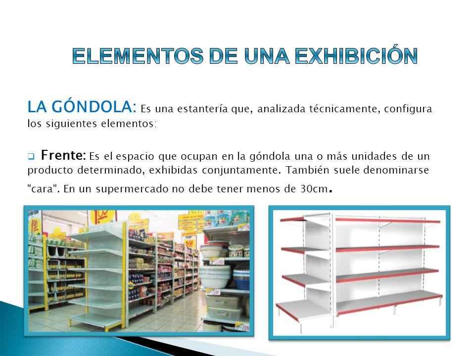 CENEFAS: Presentan dos acepciones; una, relacionada con los frentes de los estantes, dotados de una canaleta que está diseñada para sostener precios o material de promoción del punto de venta.